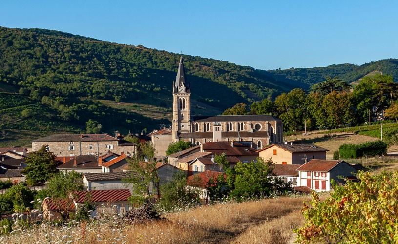 Église du christ de Quincié-en-Beaujolais